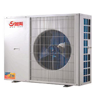 小户型家用空气能中央空调地暖一体机和地暖空调一体机家庭采暖制冷高效舒适健康节能