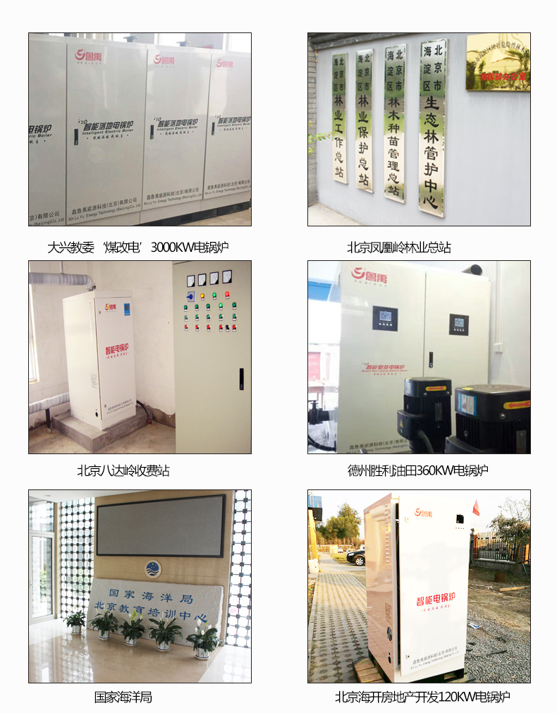 鲁禹大型大功率电锅炉采暖案例展示