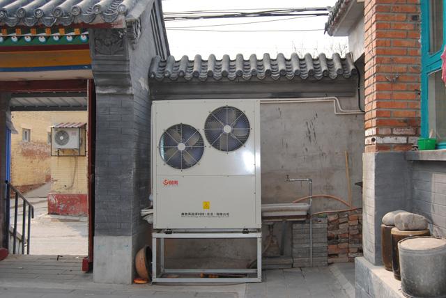 空气源热泵和空调配件以及机组系统上的区别