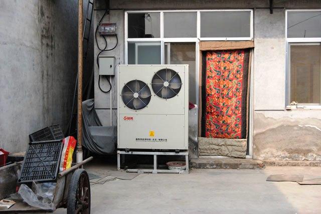 北京农村105平米空气源热泵采暖顺义区闫家营村国槐大街139号王*东家案例