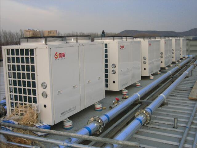 万平超低温空气源热泵机组案例