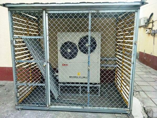 北京平房采暖用95平米超低温空气源热泵价格案例之顺义区闫家营村国槐大街78号王*林家